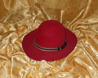 ce87b389a33ec Genuine vintage Gianni Versace by Borsalino hat - made in Italy