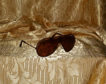 9011b3564a Genuine vintage Bausch   Lomb Ray-Ban Wings sunglasses ! Leather frame !