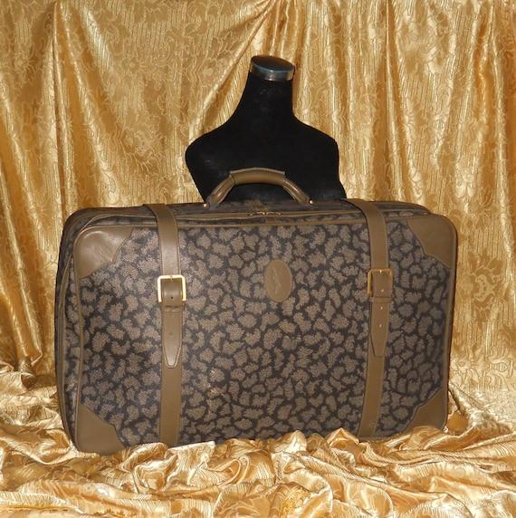 Genuine vintage Yves Saint Laurent suit-case