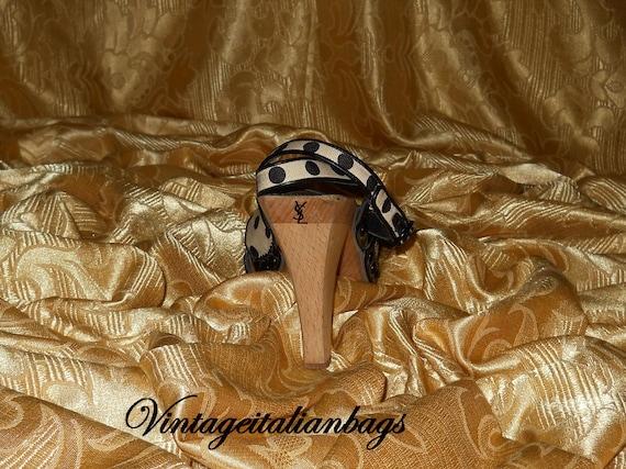 Genuine vintage Yves Saint Laurent shoes