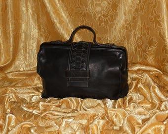 Genuine vintage Marianelli doctor bag - genuine leather