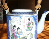 Chinese japanese Porcelain Teapot collectibles home decor