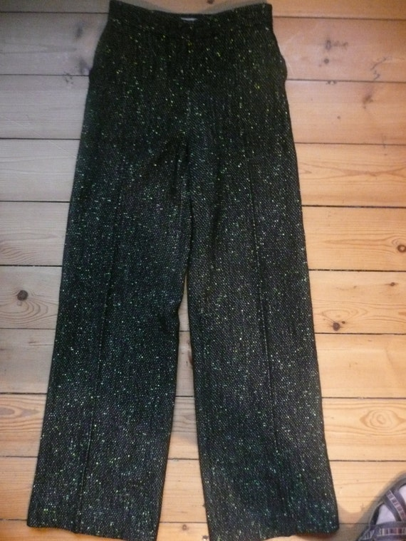 Christian Lacroix 90s  high waisted houndstooth w… - image 5