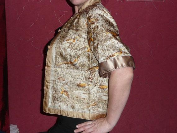 Vintage Lady H Peter Hahn Black Velvet Evening Jacket  UK 16 EU 44 US 12