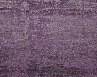 Clarke & Clarke Alessia - Embossed Velvet - Curtain Fabric - Aubergine