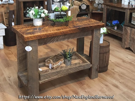 Kitchen Island Farm Table LOCALPICKUPONLY Farmhouse Table - Etsy kitchen island