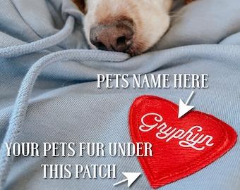 Pet Memorial Sweatshirt, PLEASE READ LISTING, Memory Sweatshirt