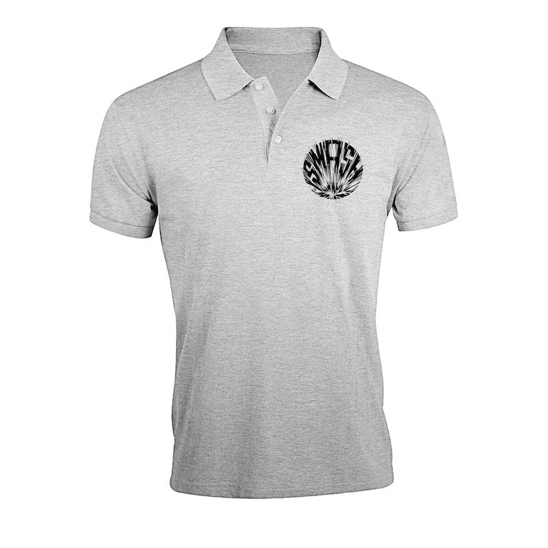 My Hero Academia Smash Graphic Regular Fit Polo T-Shirt
