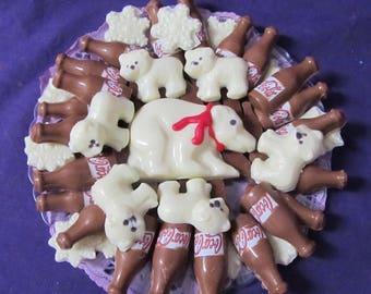 Coke a Cola Polar Bear chocolates candy