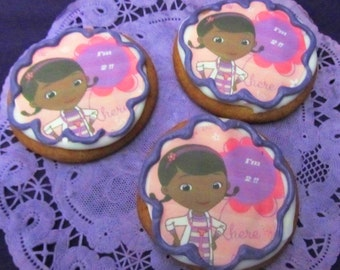 Doc McStuffins age sugar cookies 12