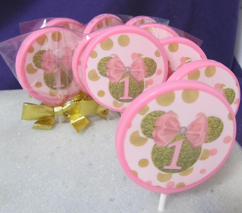 Minnie 1 chocolates lollipops 12 | Etsy