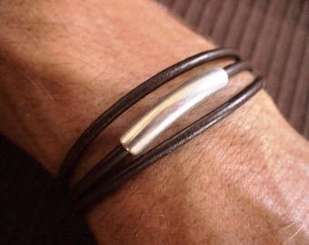 Mens beaded bracelet for him