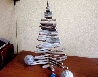 wood christmas treedriftwood christmas tree driftwood tree driftwood christmas decoration - Wooden Christmas Tree Ornaments
