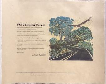 The Thirteen Curves by Tinker Greene