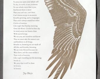 Joy Harjo: Eagle Poem