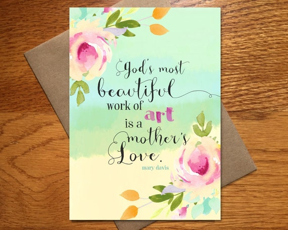 Mothers Day Card Every Spirit Love