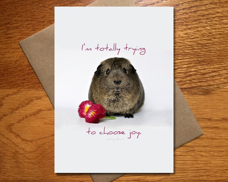 Choose Joy Card / Every Day Spirit / Friend Encouragement Card image 0