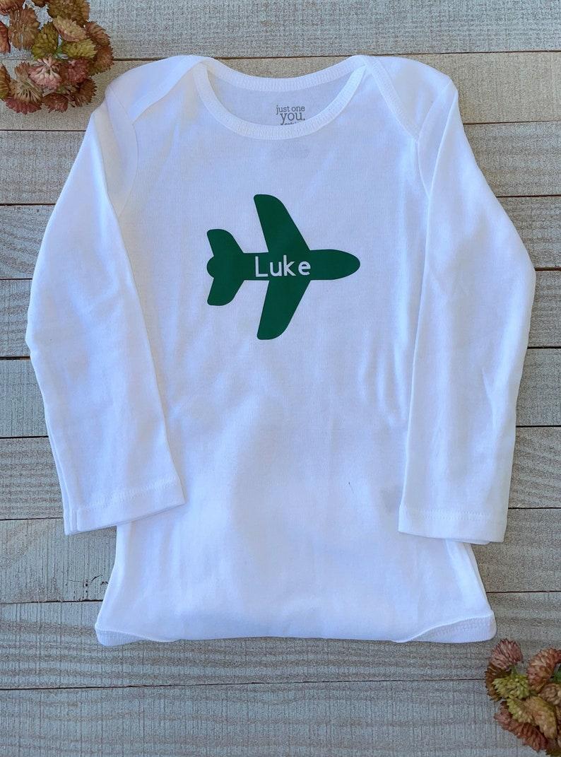 Personalized Airplane Onesie
