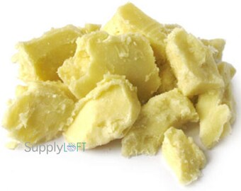 Unrefined West African Shea Butter - 1 Pound