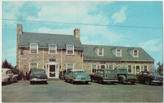 Blue Parrot Restaurant Warrenton Virginia Vintage Postcard