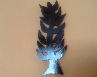 Adinkra Symbol - Symbol of Faith and Trust in God   Wall Art