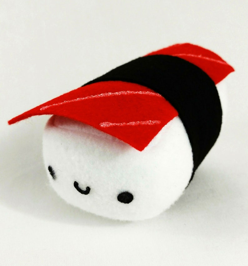 Sushi Shack 6 Sushi Plush Tuna Red  customize  16 image 0