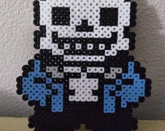Sans perler bead craft pixel art kandi sprite