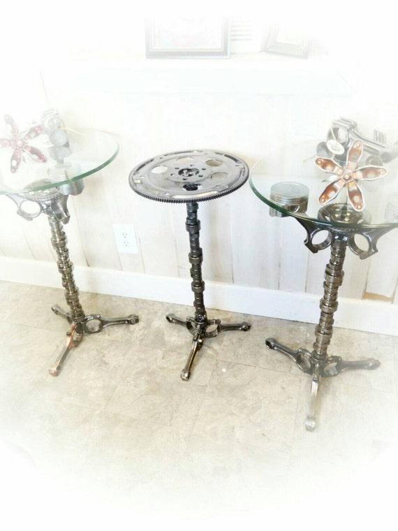 Flywheel End Table Car Part Furniture Automotive Decor Man | Etsy