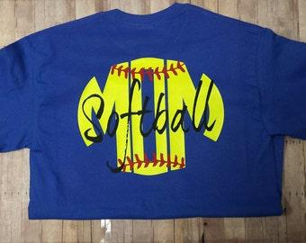 Softball Mom Shirt Etsy
