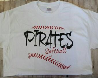 Pirates Softball Shirts