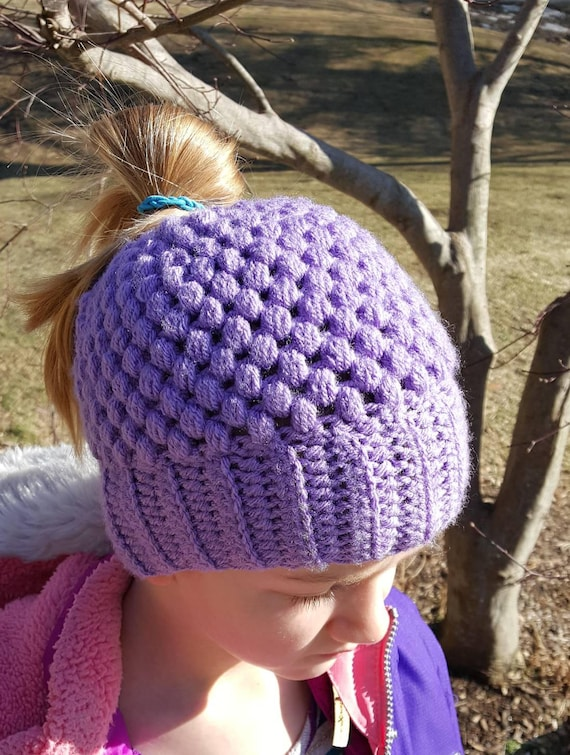 Infant Stripe Beanie 100/% acrylic 9 color choices made to order