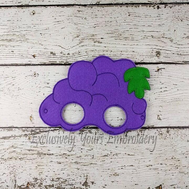 Infantil uva sentía máscara disfraz teatro de vestir