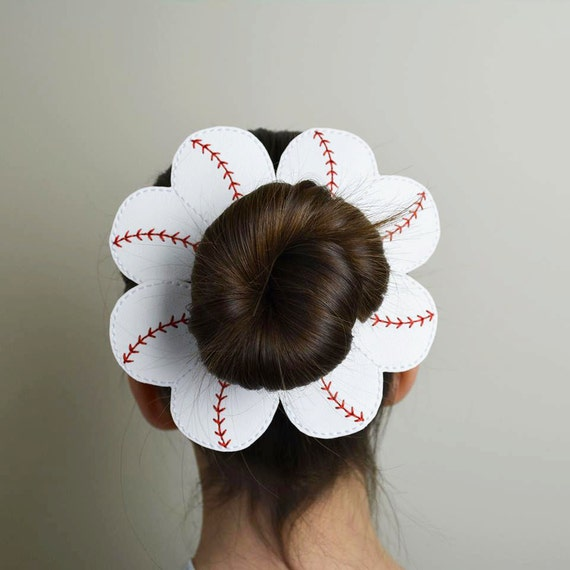 Baseball Bun Pal Hair Accessory Hair Pin Bobby Pin Hair