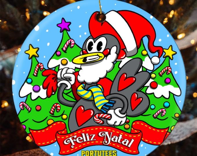 Featured listing image: Santa Galo Christmas Ornament