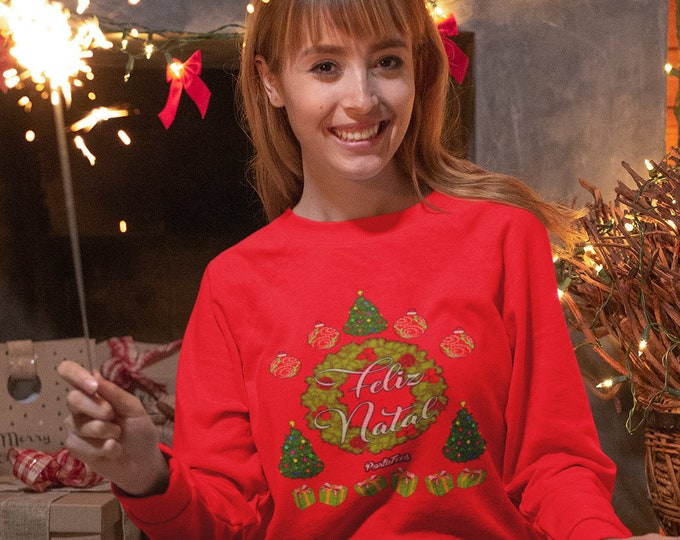 Feliz Natal Sweater (Unisex)