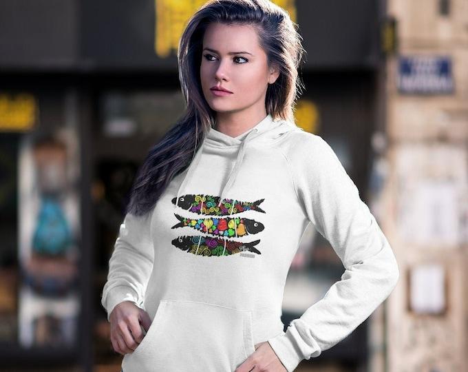 Sardine Street Art Hoodie (Unisex)