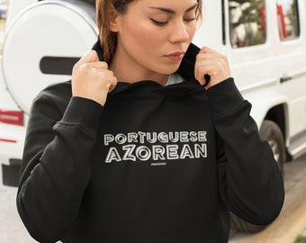Portuguese Azorean B&W Sweatshirt (Unisex)