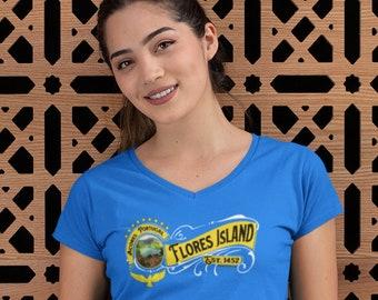 Flores Island V-Neck (Unisex)