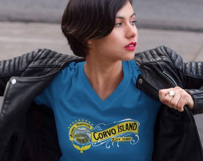 Corvo Island V-Neck (Unisex)