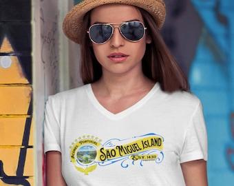 São Miguel Island V-Neck (Unisex)