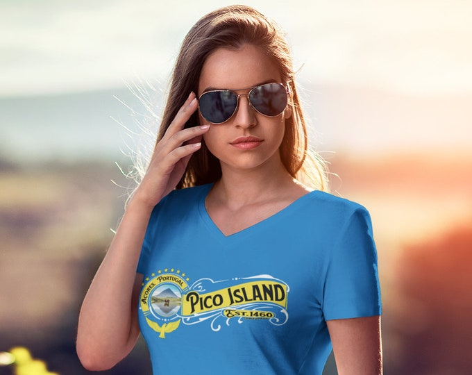 Pico Island V-Neck (Unisex)