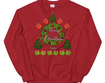 Merry Christmas Sweater (Unisex)