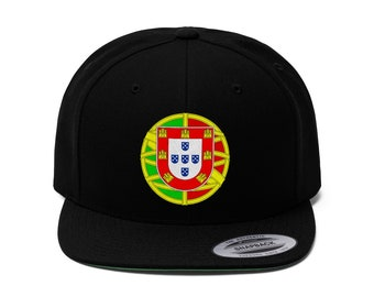 Portugal Flat Bill Hat