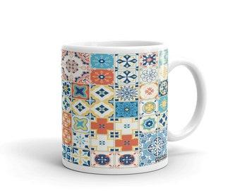 Azulejos Multi Color Mug
