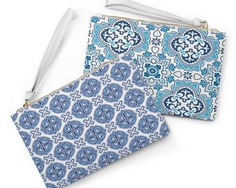 Azulejos Clutch Bag