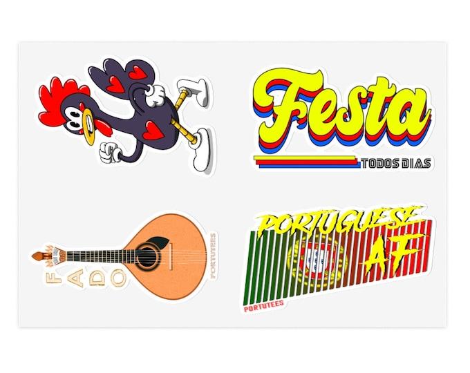 Portutees Sticker Sheet