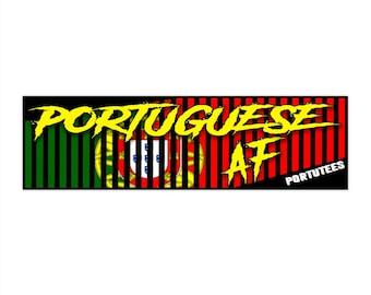 Portuguese AF Bumper Sticker