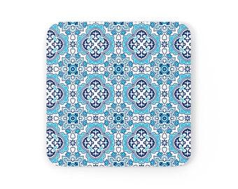 Azulejos Corkwood Coaster Set