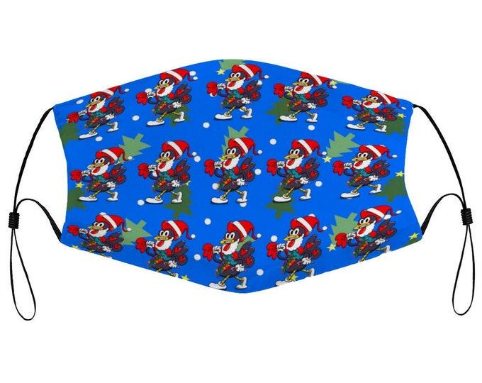 Santa Rooster (Kids) - Adjustable Mask