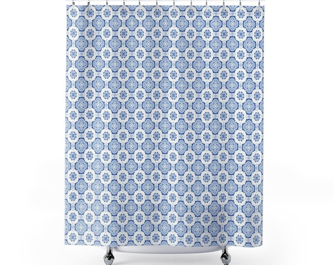 Azulejos Shower Curtain